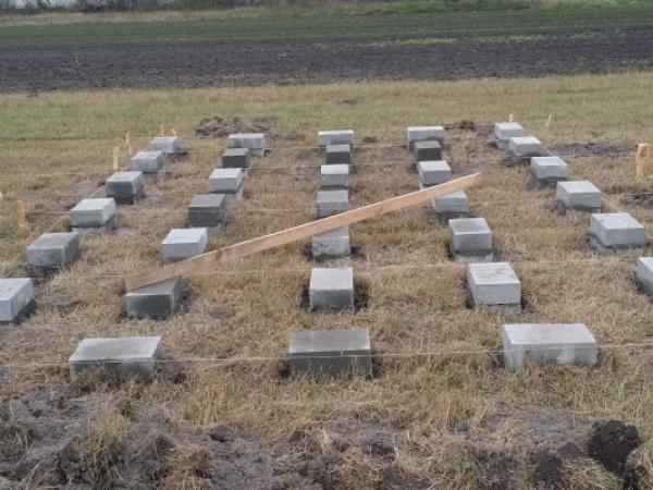 Jak wykonać fundament punktowy z betonitów?