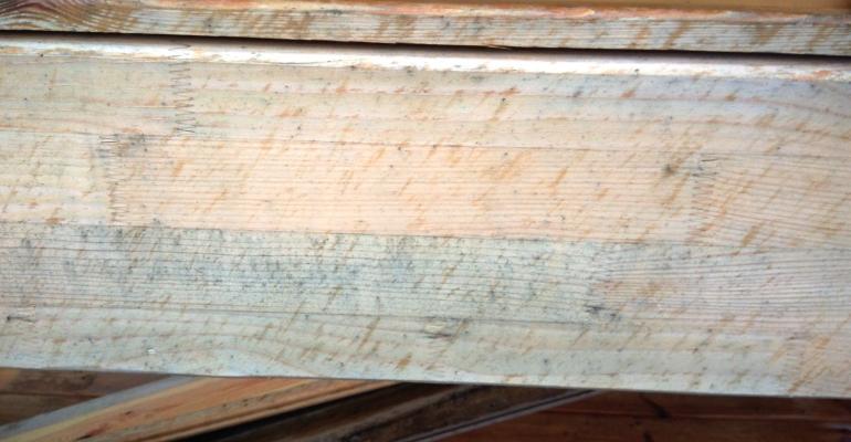 Szarzenie drewna? To proces naturalny