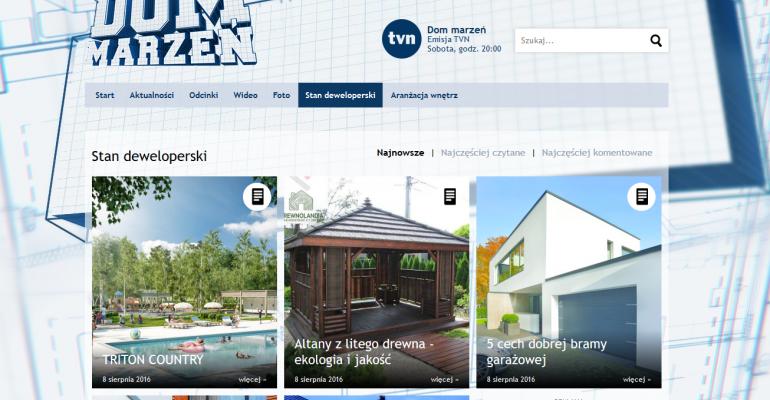 """Nasz poradnik na stronie internetowej programu """"Dom Marzeń"""""""