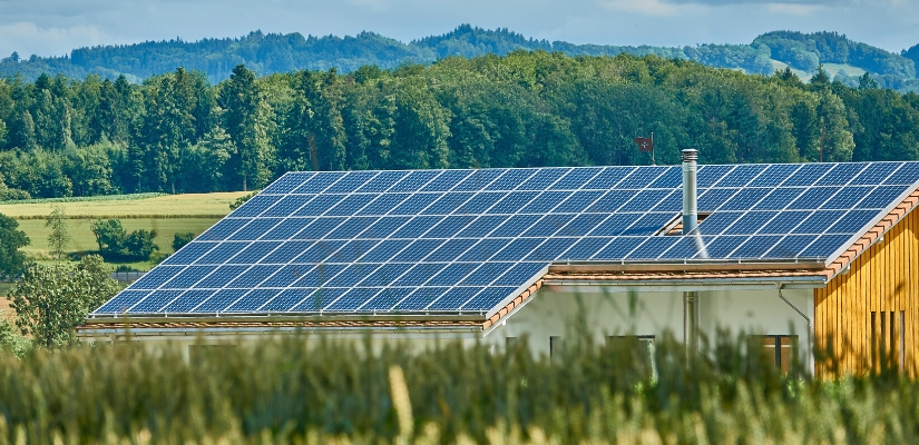 zestaw solarny na działkę