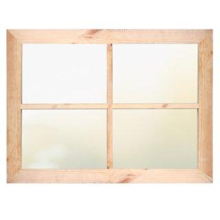 Okno drewniane jednoskrzydłowe