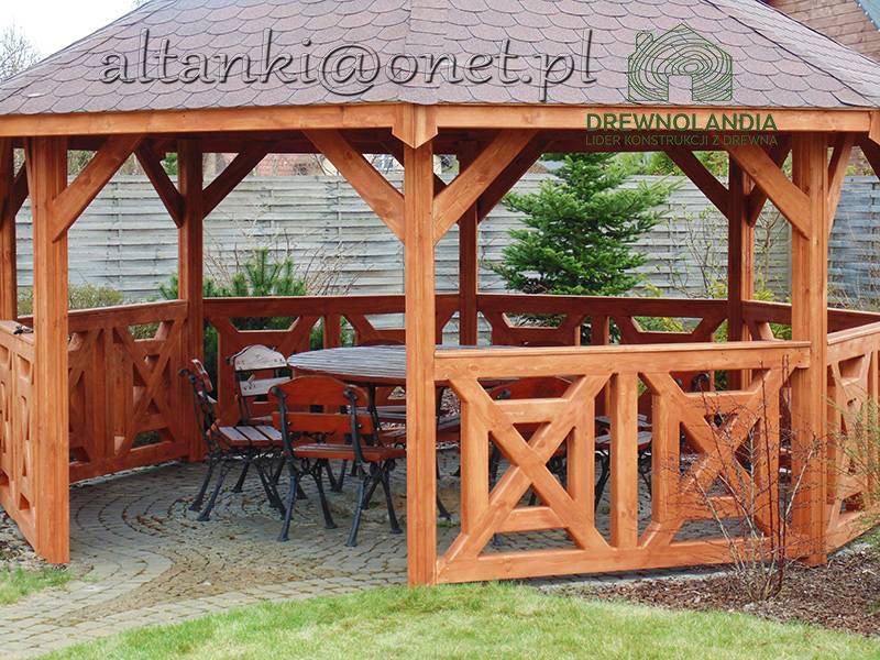 Altanki drewniane producent