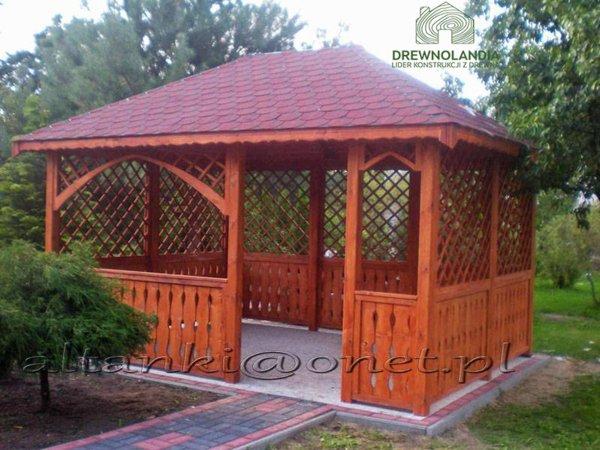 Altanka drewniana 3x5m