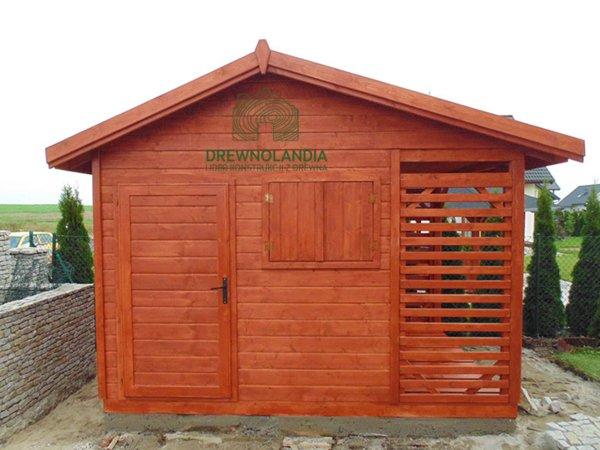 Domki gospodarcze z drewna drewnolandia