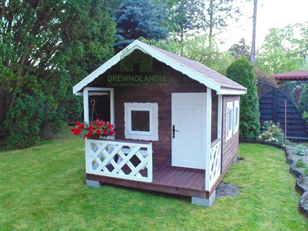 Domki dla dzieci do ogrodu.drewnolandia