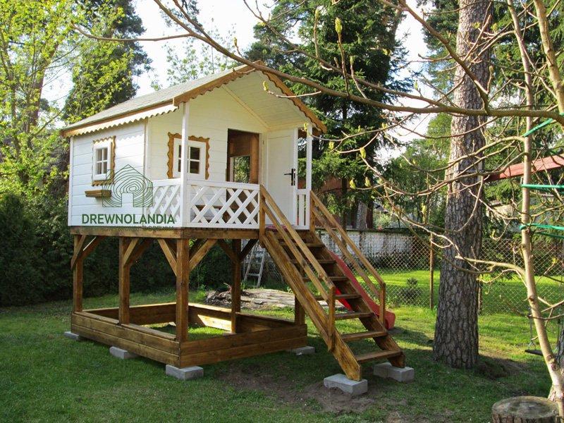 Domek drewniany dla dzieci 2017