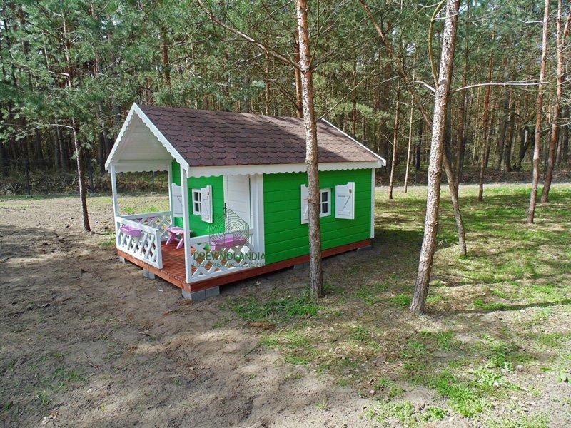 Drewniany domek dla dziecka 2017