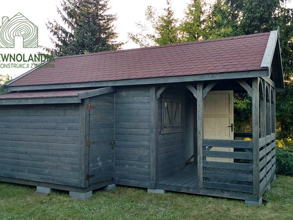Producent drewniane domki na dzialke