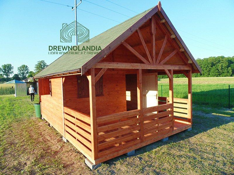 Domki z drewna na dzialke producent drewnolandia