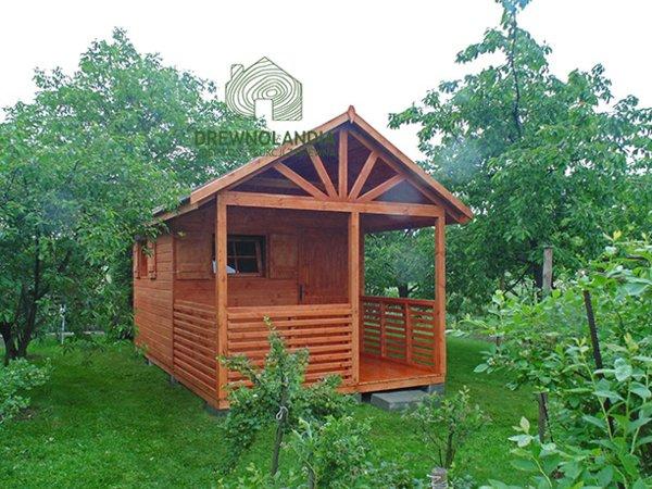 Domki na rodzinne ogrody dzialkowe producent