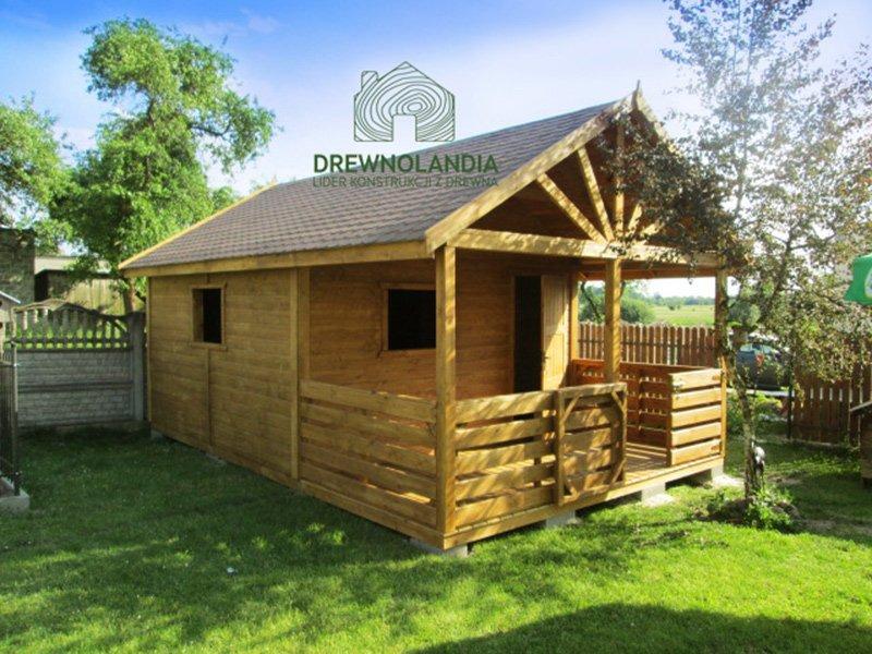 Domek drewniany Aleksander