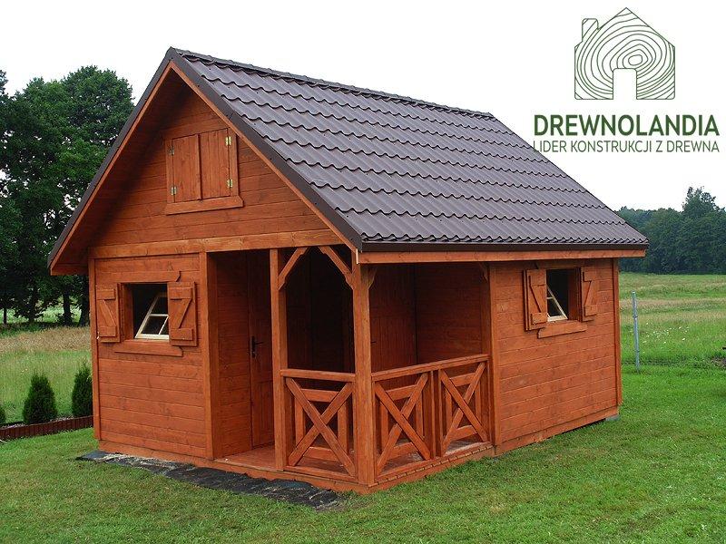 Domek z drewna do 35 metrow