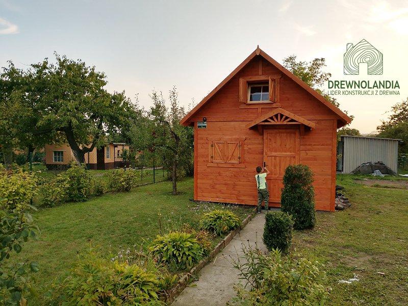 Domek ogrodowy z drewna drewnolandia