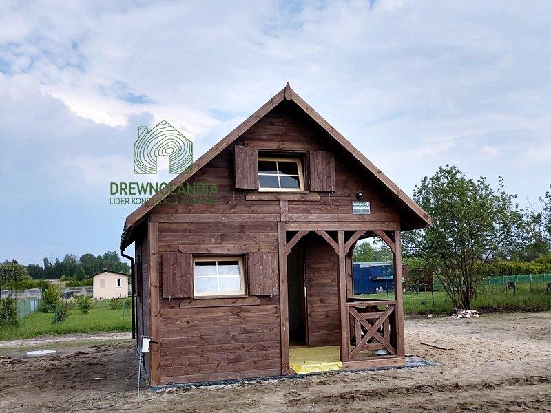Domki drewniane cena taras