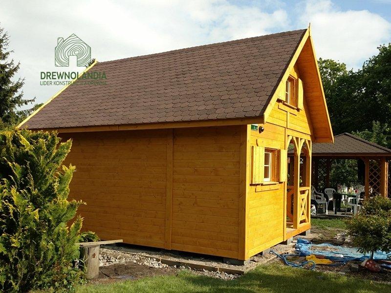 Taras domek drewniany