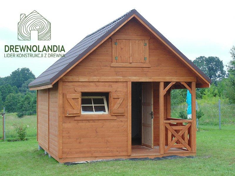 Domek samo drewno bez pozwolen