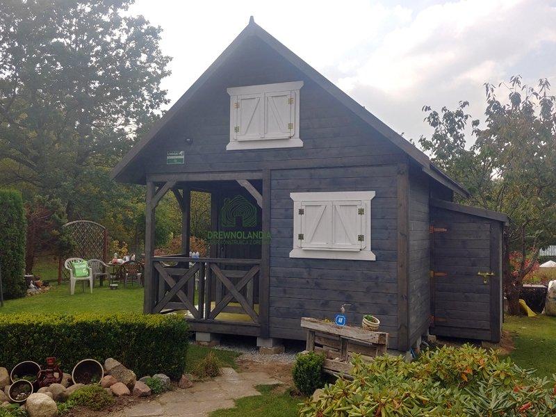 Letniskowe drewniane domki montaz