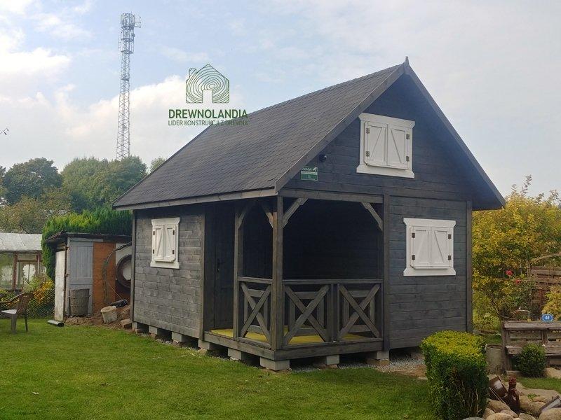Wiktor i domek drewniany do 35m
