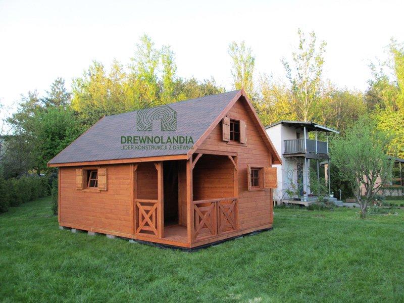 Domki drewniane do ogrodu drewnolandia 2017