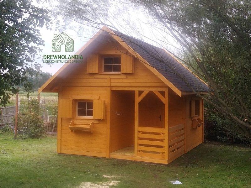 Drewniane domki wakacyjne na dzialke