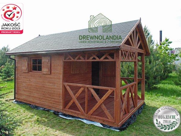 Domki ogrodowe z drewna producent lubelskie
