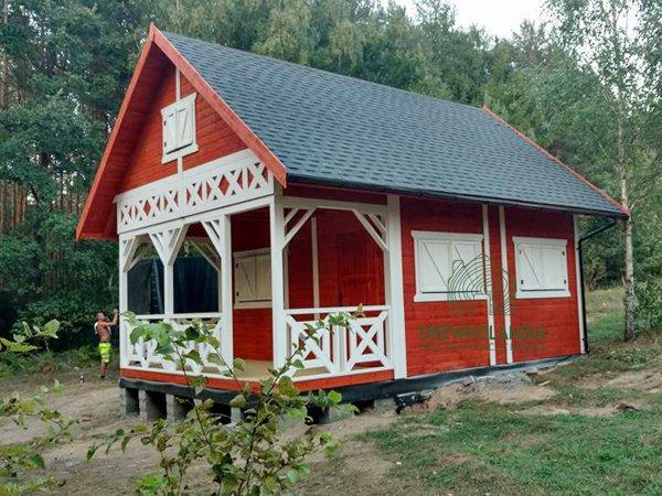 Domek drewniany letniskowy drewnolandia