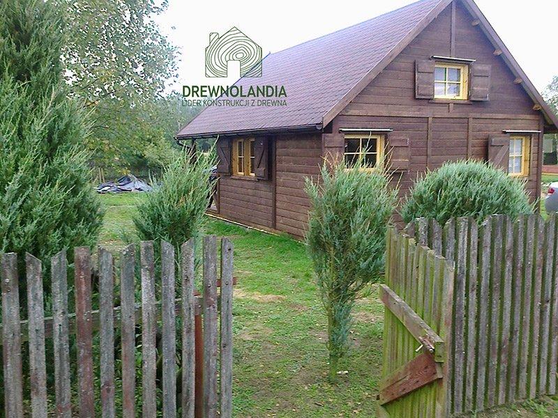 Domek drewniany altana