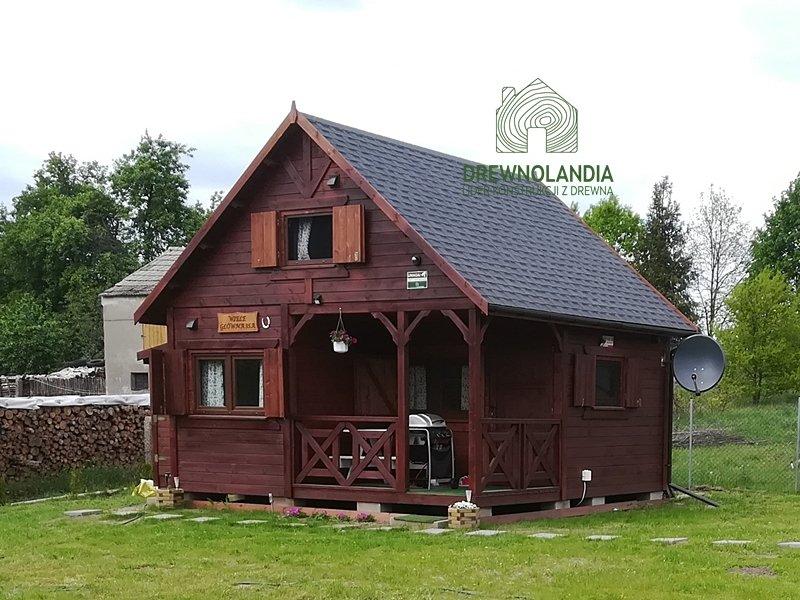 Taras drewniany domek drewnolandia warszawa
