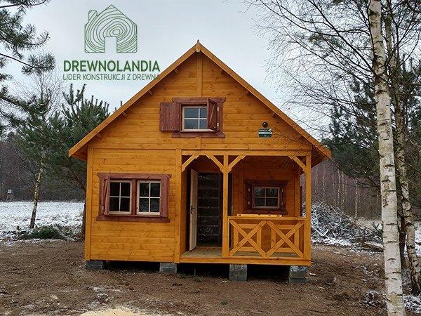Tanie drewniane domki letniskowe
