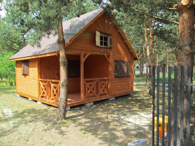Domki z drewna producent katowice 2017