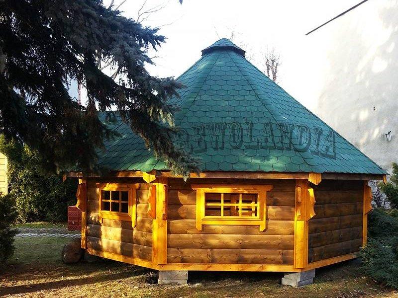 Domek do grillowania w zime