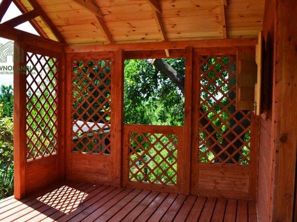 Domki dzialkowe drewniane producent