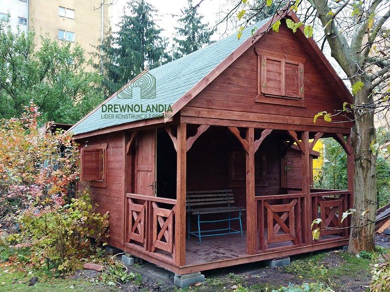 Domek z drewna producent 2018