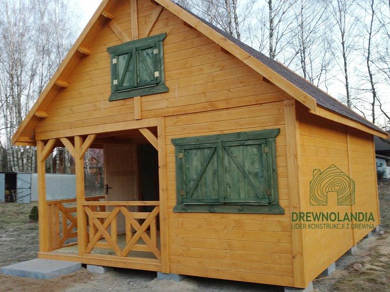 Domek bez pozwolenia drewnolandia