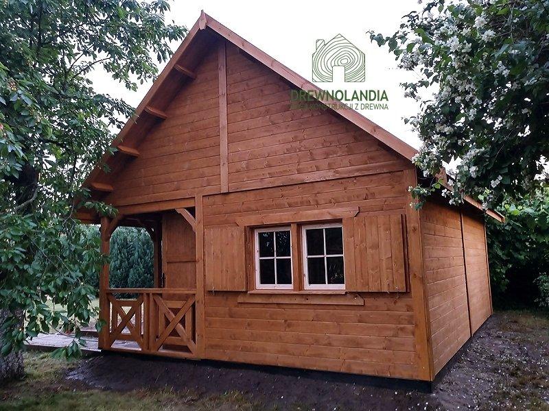 Domy i altanki z drewna
