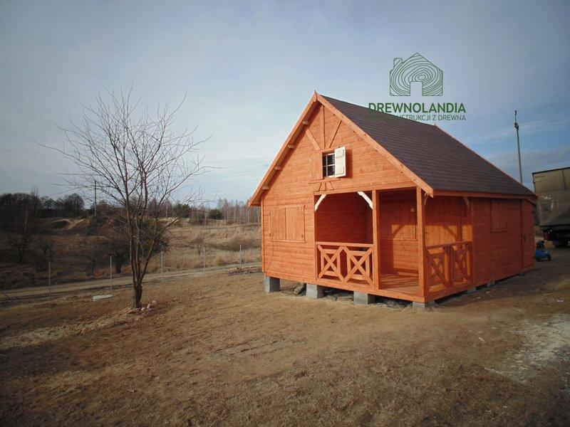 Domki letniskowe z drewna producent lublin 2017