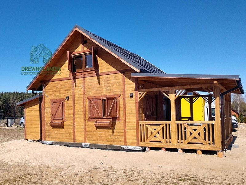 Domy i domki z drewna