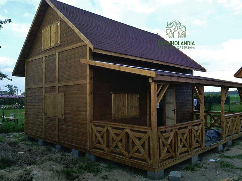 Drewniane domki producent 2017