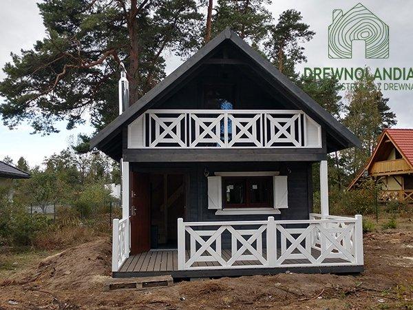 Domek na dzialce 35m