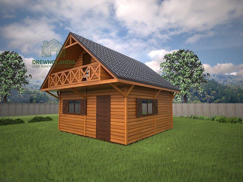 Domek drewniany6