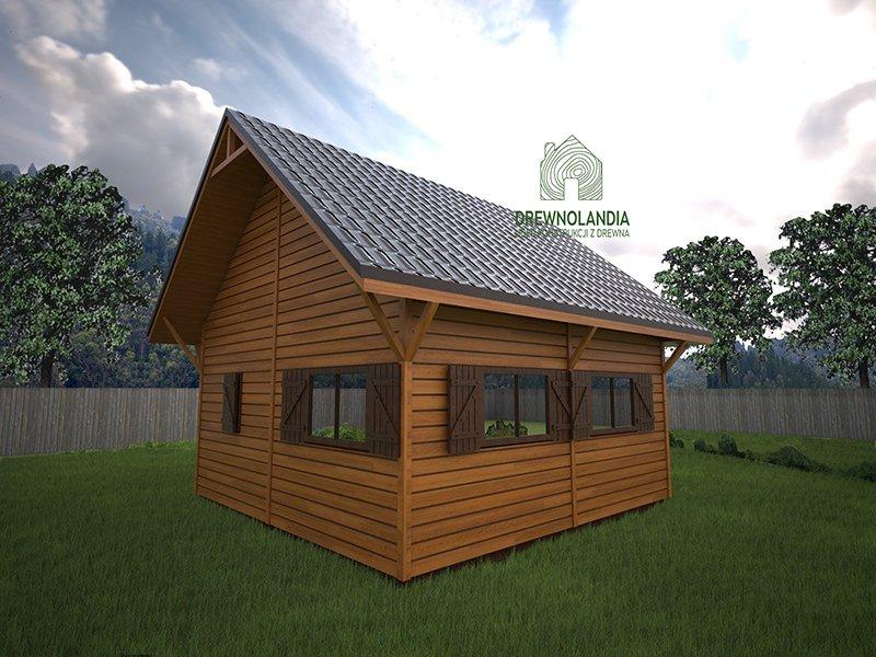 Domek drewniany8