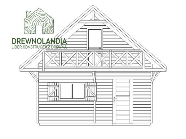 Domek drewniany1