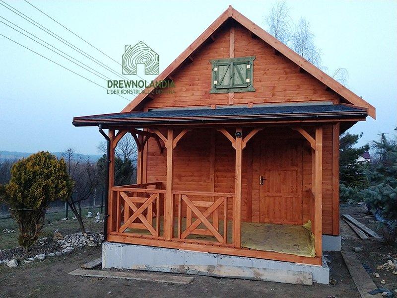 Caloroczne tanie domki rekreacyjne