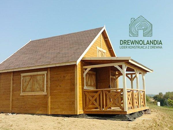 Dom drewniany letniskowy