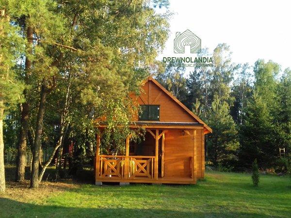 Domki ogrodowe drewniane producent drewnolandia 2017