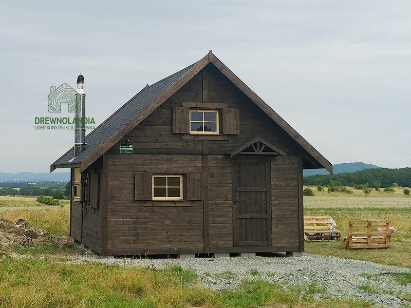 Wymarzony domek z drewna drewnolandia