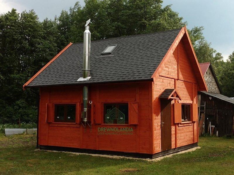 Domy letniakowe caloroczne drewnolandia