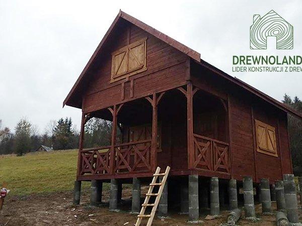Domki na lato drewnolandia producent domek na rod