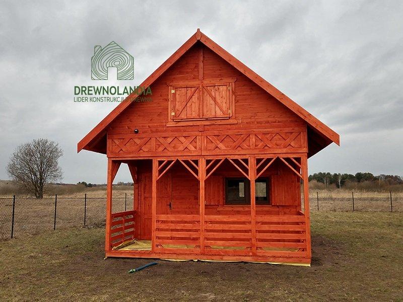 Dom drewniany 35m tanio