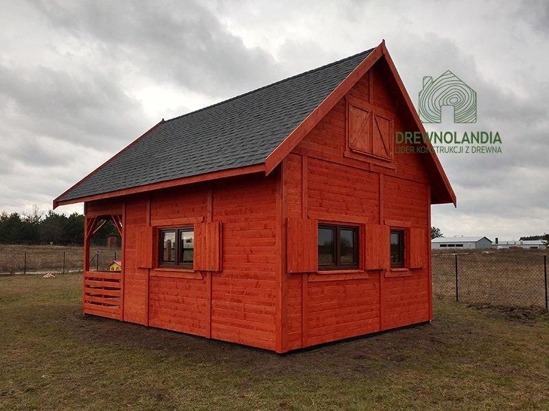 Domy letniskowe drewniane 35m